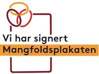 Signert Mangf pl logo Farget bakgrunn