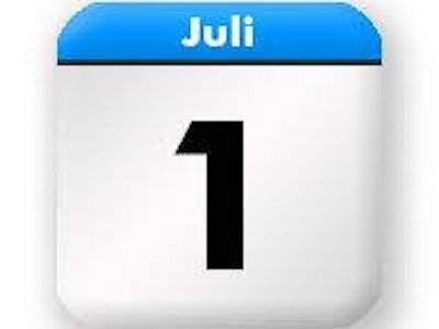1 juli