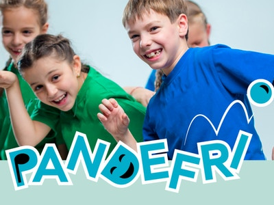 Pandefri logo med bilde