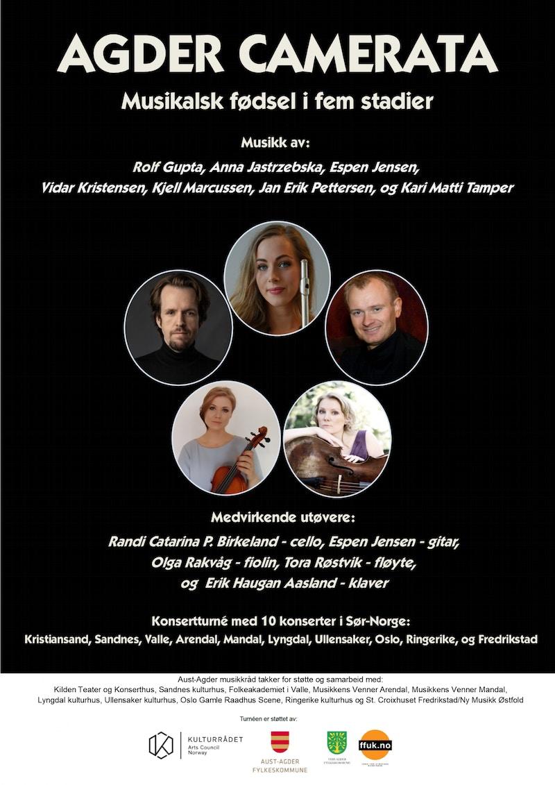Agder Camerata 2019 plakat