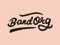 Band Org illustrasjonsbilde peach