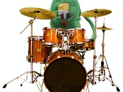 Buskis pa trommer