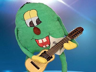 Buskis med gitar