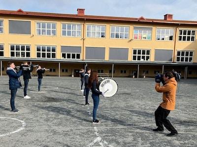 Huseby signal NRK opptak