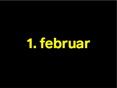 1 februar