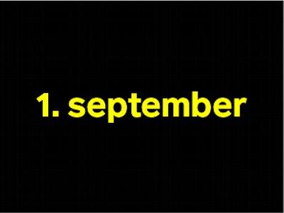 1 september