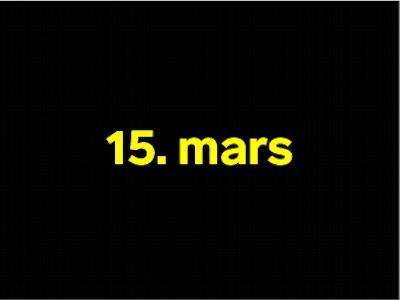15 mars