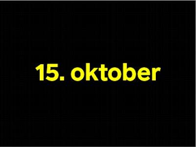 15 oktober