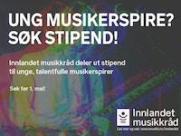 Innlandet musikkrads stipend nett