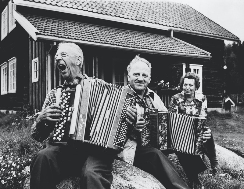 Spelemenn foto Akershusmuseet
