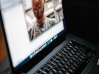 Turned on macbook 3205403 Foto cottonbro Pexels
