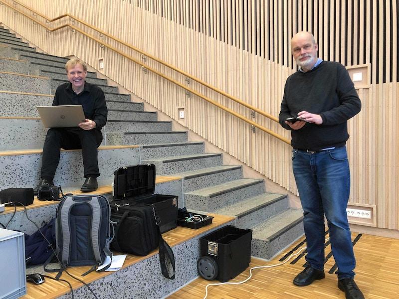 Jon A Olsen og Jacob Falck