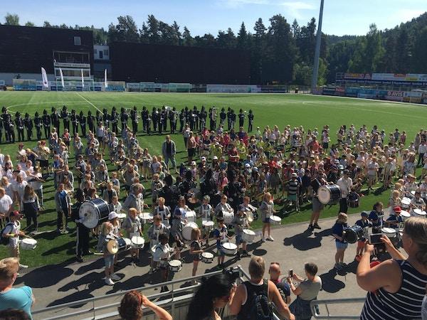 Fellesnummer Klassekorpsfestival Hønefoss