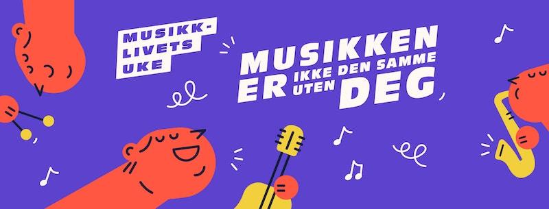 Musikklivets uke Facebook cover