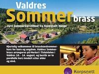 Valdres Sommerbrass forside