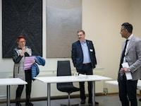 Mote med ministeren foto Skjalg Vold