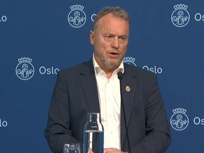 Raymond Johansen skjermdump NRK nyheter edited