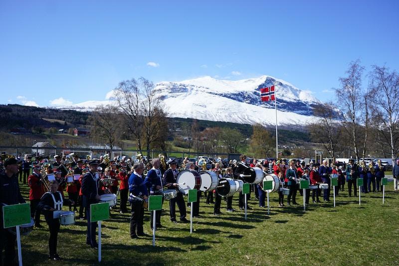 Korpstreff i vakre Vang foto Morten Stensby Avisa Valdres 12 5 2019
