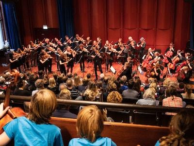 Liteungdomssymfoniorkester Unof Hostkonsert 2018