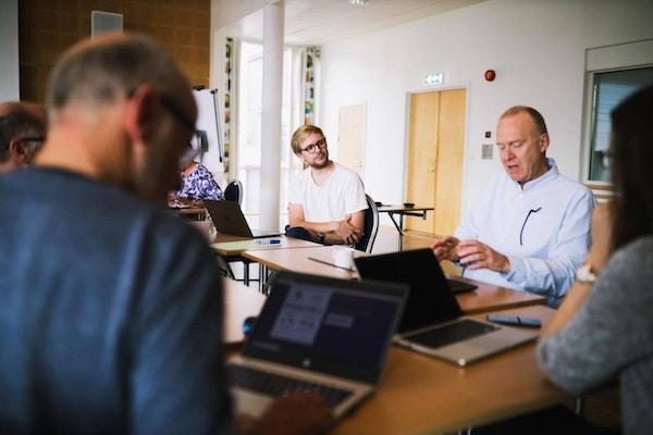 Gruppearbeid Torkjell Hovland og Trond Eklund Johansen