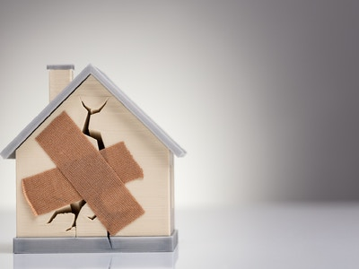 Hus med plaster redux