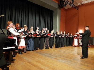 Samhold norsk polsk kor