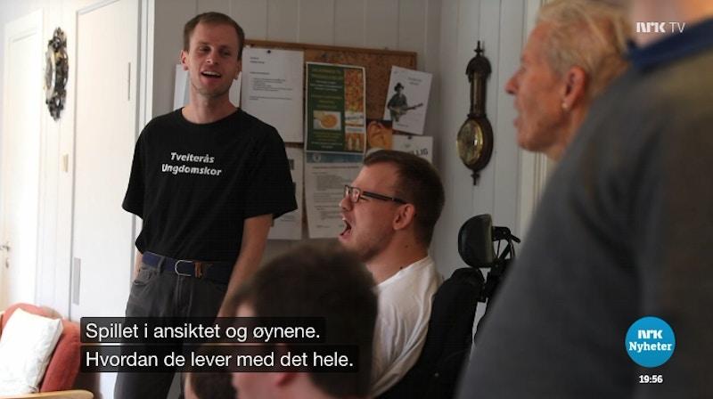 Tveiteras ungdomskor NRK