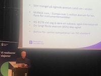 Jon G Olsen lansering av ISO standarden