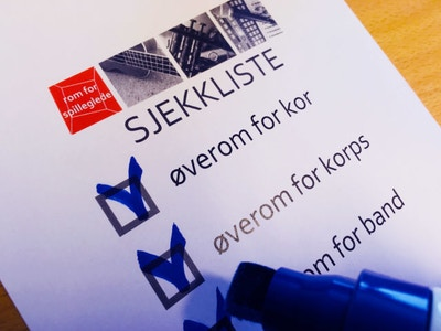 Sjekkliste For Overom