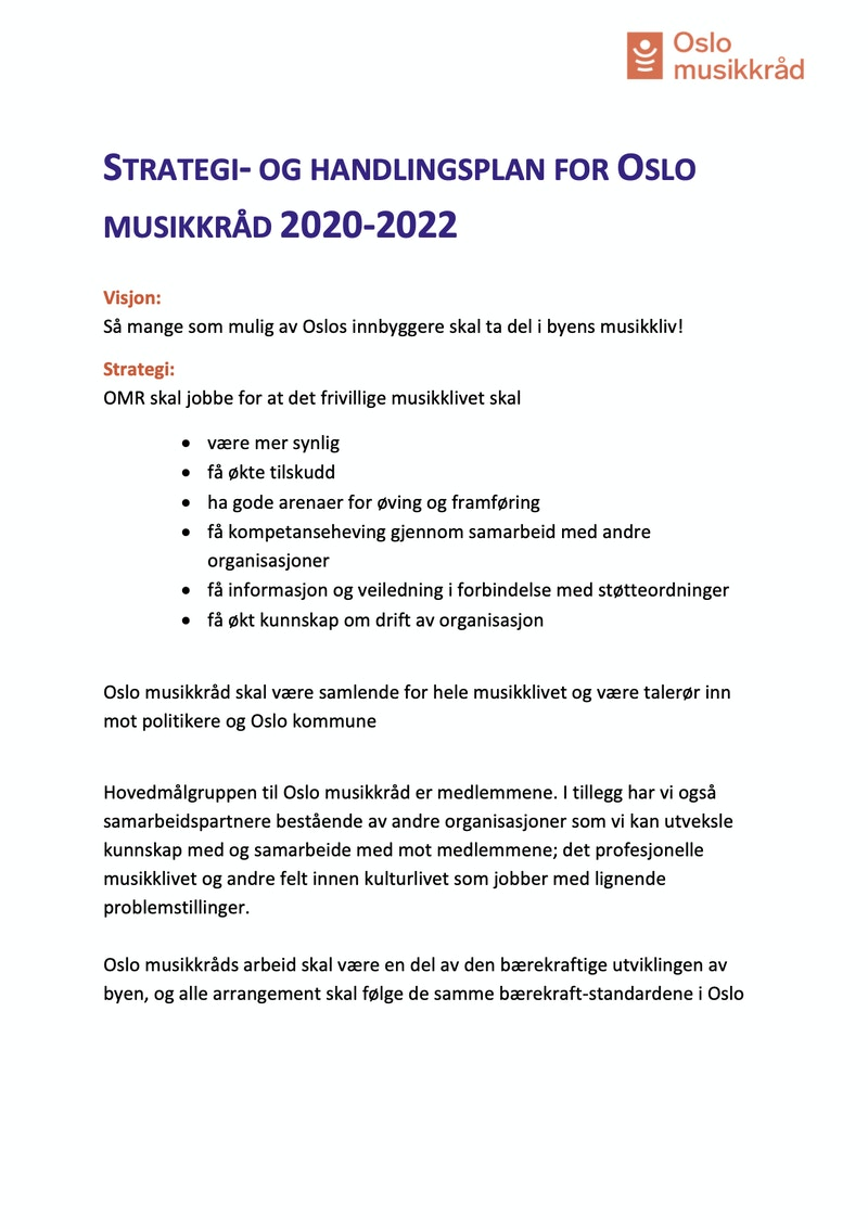 KOPI Revidert strategi og handlingsplan OMR endringer etter styremote mars