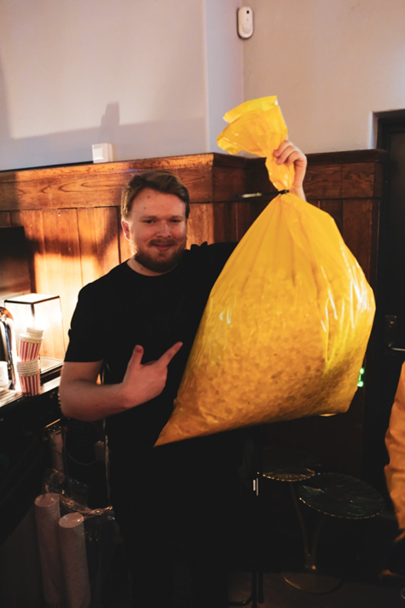 UKM julefest 2019 Oskar og popcorn