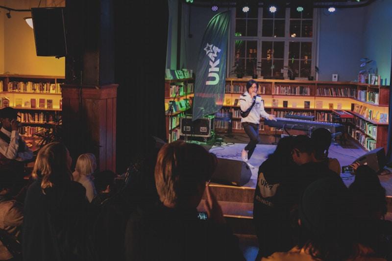 UKM julefest 2019 opa scene