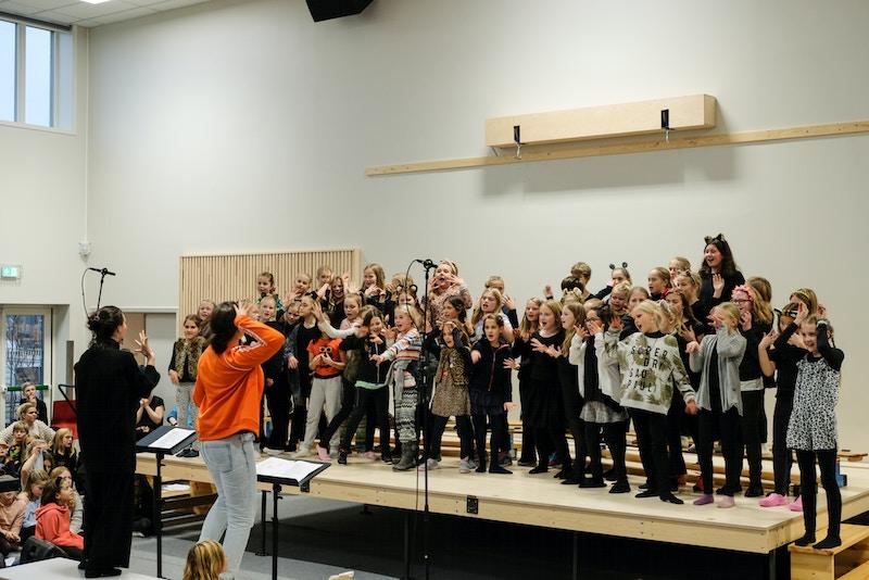 Korweekend på Berg Skole 2018