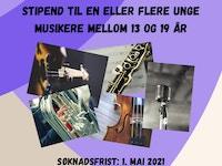 TMR musikerstipend plakat