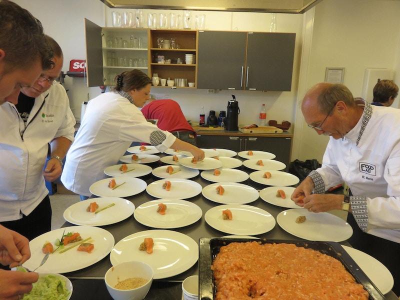 Nederlenderne lager mat i Tromsø