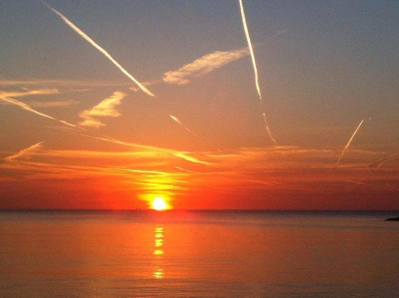 Solnedgang over Svartehavet
