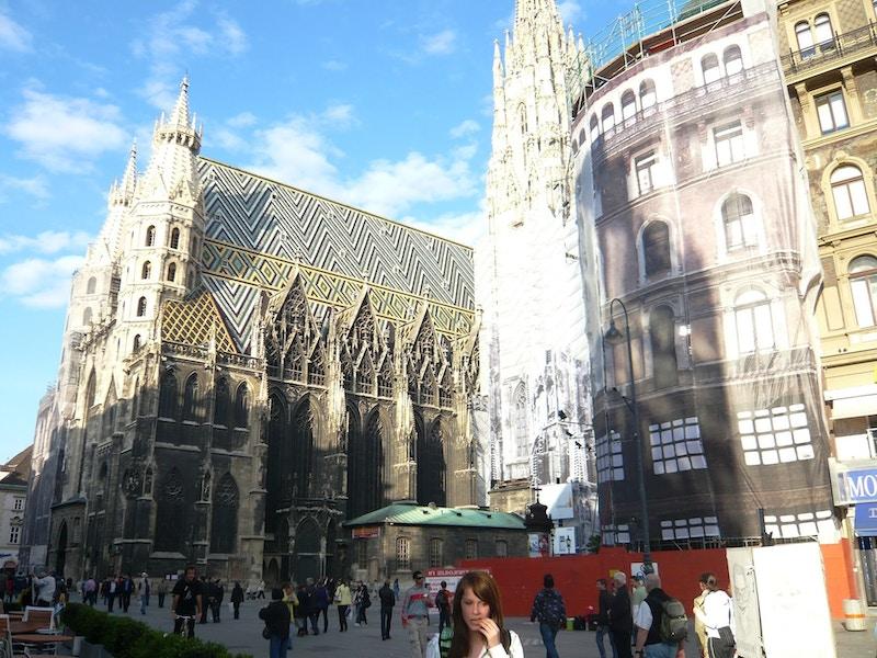 Stefansdome i Wien
