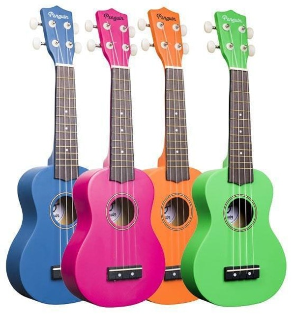 Amahi Penguin Series Ukulele Multiple Colors Available 5585465985 1200X1200